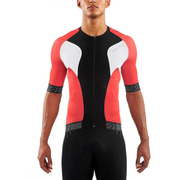 Skins Cycle Men's Tremola Due Short Sleeve Jersey - Black/White/Red