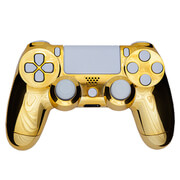 PlayStation DualShock 4 Custom Controller - Gold & White
