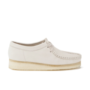 Clarks Originals Women's Wallabee Shoes - Off White - UK 5