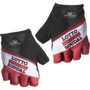 Lotto Soudal Mitts 2016 - Red/White