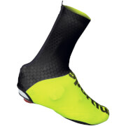 Image of Sportful Lycra Shoe Cover - Black/Yellow Fluo - S - Black/Yellow