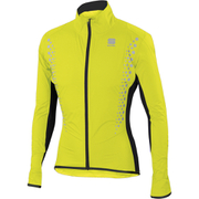 Sportful Hot Pack Hi-Viz NoRain Jacket - Yellow