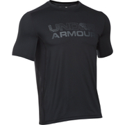 Under Armour Men's HeatGear Raid Graphic Short Sleeve T-Shirt - Black