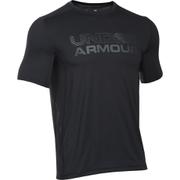 Under Armour Men's HeatGear Raid Graphic Short Sleeve T-Shirt - Black