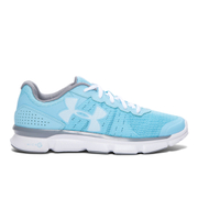 Under Armour Women's Micro G Speed Swift Running Shoes - Blue/White
