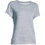 Under Armour Women's Studio Boxy Crew T-Shirt - Grey - XS