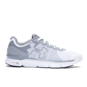 Under Armour Women's Micro G Speed Swift Running Shoes - Grey/White - US 7/UK 4.5 - Grey/White