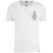 T -Shirt Smith & Jones pour Homme Maqsurah Back -Blanc