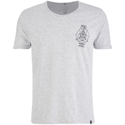 T -Shirt Smith & Jones pour Homme Maqsurah Back -Gris Chiné
