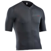 Northwave Extreme 68G Full Zip Short Sleeve Jersey - Black