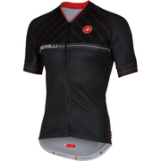 Castelli Scotta Short Sleeve Jersey - Black