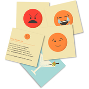 Totes Emotes Emoji Flashcards Set