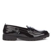 Kickers Women's Lachly Patent Loafers - Black