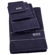 Hugo BOSS Plain Towel Range - Navy - Guest Towel - Blue