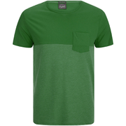 Jack & Jones Men's Originals Tobe 2 Tone T-Shirt - Verdant Green