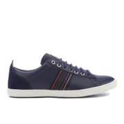 PS by Paul Smith Men's Osmo Leather Low Top Trainers - Galaxy Mono Lux