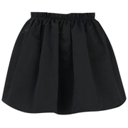 McQ Alexander McQueen Womens Crinkled Skirt  Black  EU 44UK 12