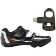 Look Touring Shoe and Keo Easy Pedals - Black