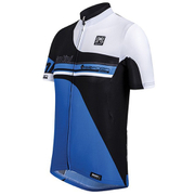 Santini Air Form Short Sleeve Jersey - Blue