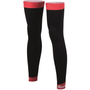 Santini BeHot Leg Warmers - Black/Red