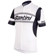 Santini Tau Jersey - White - L - White