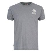 Franklin & Marshall Men's Small Logo T-Shirt - Sport Grey Melange