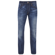 Jack & Jones Originals Men's Mike Straight Fit Jeans - Mid Wash