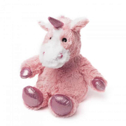 Cozy Heatable Plush Sparkly Unicorn - Pink