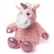 Warmies Cozy Heatable Plush Sparkly Unicorn - Pink