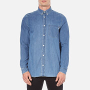 Carhartt Men's Long Sleeve Civil Shirt - Stone Wash