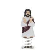 Dashboard Jesus Wachelkopffigur