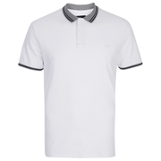 Threadbare Men's Warsaw Tipped Polo Shirt - White