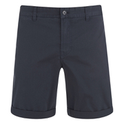 J.Lindeberg Men's Nathan ES Breeze Stretch Shorts - Dark Navy