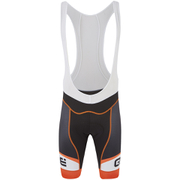 Alé Formula 1.0 Logo Bib Shorts - Black/Orange