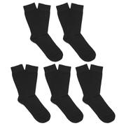 Bjorn Borg Men's 5 Pack Ankle Socks - Black