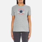 Converse Women's All Star Core Solid Chuck Patch T-Shirt - Vintage Grey Heather