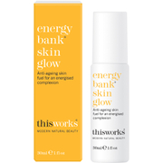This Works this works Energy Bank Skin Glow Face Serum 30ml