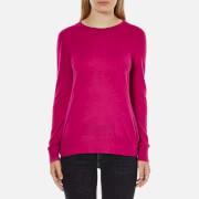 MICHAEL MICHAEL KORS Women's Crew Neck Back Cutout Sweatshirt - Geranium