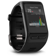 Garmin Vivoactive HR GPS Smart Watch  Regular  Black