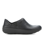 FitFlop Women's Superloafers Leather Clogs - All Black