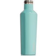 Image of Corkcicle Canteen Triple Insulated Flask 16 oz - Gloss Turquoise