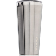 Image of Corkcicle Canteen Triple Insulated Tumbler 16 oz - Brushed Steel