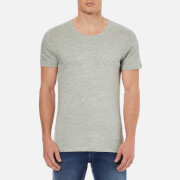 Selected Homme Men's Dave O-Neck T-Shirt - Slate Grey