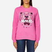 KENZO Women's Tiger Embroidered Sweatshirt - Bergonia
