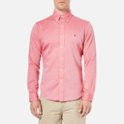 Polo Ralph Lauren Men's Long Sleeve Oxford Shirt - Red