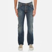 Nudie Jeans Mens Steady Eddie Straight Jeans  James Replica  W32L34
