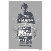 Uncharted 4 Exclusive Art Print - Limited to 995 Worldwide