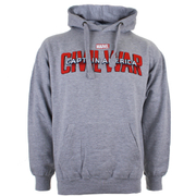 Marvel Men's Captain America Civil War Logo Hoody - Grey