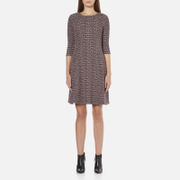 BOSS Orange Women's Dacoco Jersey Dress - Multi - XS