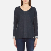 BOSS Orange Women's Tareverse Sweatshirt - Dark Blue - S